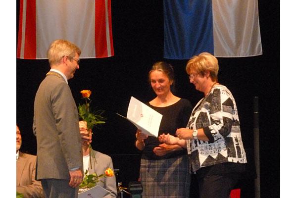 Auszeichnung Karin Wurlitzer